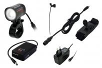 Sigma фара передняя диодная karma evo pro k с аккумуляторами, зарядкой и крепл. на шлем