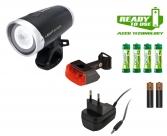Sigma фары в компл. lightster + cuberider ii с зарядкой и акк.