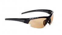 Очки спортивные swisseye gardosa evolution с футляром. оправа: черная матовая. линзы: фотохромные оранжево-дымчатые+бесцветные водоотталкивающие.