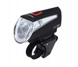 Trelock фонарь диодный передний ls 330 sportline, 2 режима, чёрный