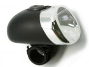 Фара перед. ql-217, 1 светодиод, с индикатором разряда, батарейки в компл., в торг. уп.
