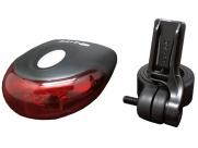 Фонарь задний ql-210fb 4 диода, 4 режима, 62х30х62мм, батарейки в компл., в торг. уп.