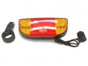 Фонарь задний sl-266, 9 диодов, со стоп-сигналом.