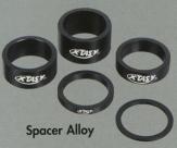 """X-taz-y кольцо проставочное 1-1/8""""х2мм серебристое"""