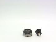 """Neco рулевая h51 интегрированная 1-1/8""""х30мм, высота 9,4±0,5мм, алюминий, cnc, вес 62,5г, промподшипники 41,8x45*x45*, крышка 7,8мм, чёрная, 6 частей, в торг.уп."""
