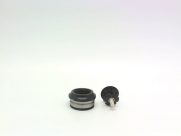"Neco рулевая h23 интегрированная, 1-1/8""х30мм, высота 9,5±1мм, алюминий, cnс, вес 60,3г, промподшипники d:41x36*x45*, крышка 7,8мм, чёрная, 6 частей"