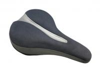 Velo седло vl-6215e серия plush. комфорт. размер: 280х180мм. вес: 780г. рельсы: сталь. наполнитель: honeycomb гель.