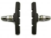 Колодки торм. z-630 для v-brake, резьбовые, 70 мм, совместимость: shimano lx/dx/alivio, блистер