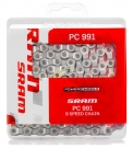 Цепь 9v sram pc-991 + powerlink gold 9 ск.