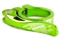 Хомут подс. 34.9mm. sixpack menace, цвет: green ano.