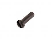 PILLAR Ниппель STANDARD латунный15G (1,8мм)X12мм, чёрный