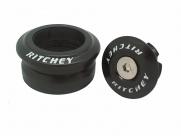 """Ritchey рулевая колонка comp logic zero road 1-1/8"""", интегрированная, стальная, чёрная, в торг.упак."""