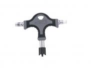Super b (premium) tb-th20 т-ключ: съёмник передних звезд /torx 40/шестигранник 6мм, торг.упаковка