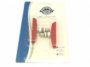 Ritchey колодки тормозные mtn logic lp для v-brake, 70 мм., красные, в торг.упак.