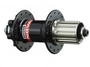 Novatec втулка задняя d042sb-ss кассетная, мтв, под диск (6 болтов), 32н, ось crmo, м10х145мм, 4 промподшипника, 491г, чёрная