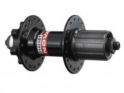 Novatec втулка задняя d142sbt кассетная, мтв, 36н, ось crmo, м10х145мм, 2 промодшипника, с эксцентриком, 460г, чёрная