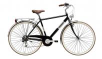 """Велосипед Adriatica PANAREA Man 28"""", рама сталь, 6 ск., чёрный"""