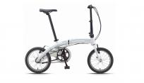"""DAHON Curve i3 Cloud, велосипед складной, колёса 16"""", крылья, багажник, насос, 3 скор."""